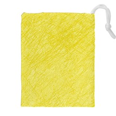 Yellow Pattern Drawstring Pouches (xxl)