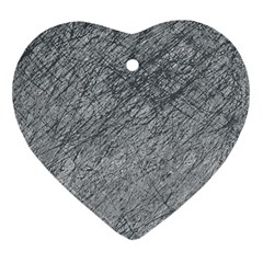 Gray pattern Ornament (Heart)