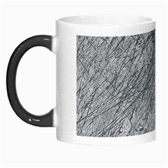 Gray Pattern Morph Mugs