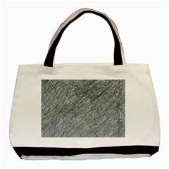 Gray pattern Basic Tote Bag