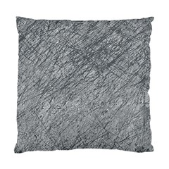 Gray pattern Standard Cushion Case (Two Sides)