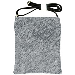 Gray pattern Shoulder Sling Bags