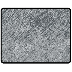 Gray pattern Fleece Blanket (Medium)