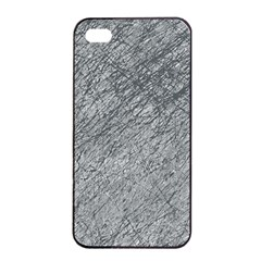 Gray pattern Apple iPhone 4/4s Seamless Case (Black)