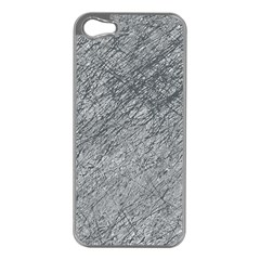 Gray pattern Apple iPhone 5 Case (Silver)