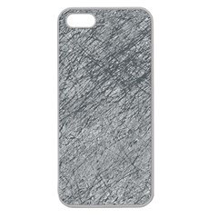 Gray pattern Apple Seamless iPhone 5 Case (Clear)