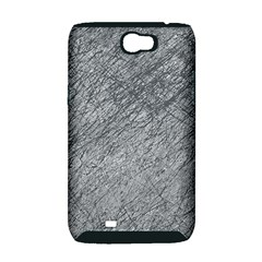 Gray pattern Samsung Galaxy Note 2 Hardshell Case (PC+Silicone)