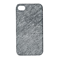 Gray pattern Apple iPhone 4/4S Hardshell Case with Stand