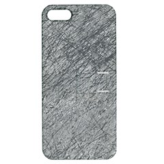 Gray pattern Apple iPhone 5 Hardshell Case with Stand