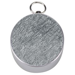 Gray pattern Silver Compasses