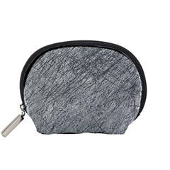 Gray pattern Accessory Pouches (Small)
