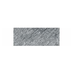 Gray pattern Satin Scarf (Oblong)