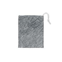 Gray pattern Drawstring Pouches (XS)