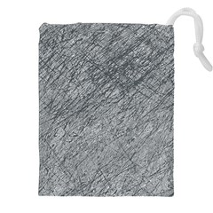 Gray pattern Drawstring Pouches (XXL)