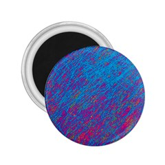 Blue pattern 2.25  Magnets