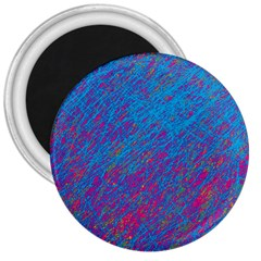 Blue pattern 3  Magnets