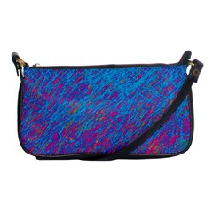 Blue pattern Shoulder Clutch Bags