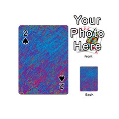 Blue pattern Playing Cards 54 (Mini)