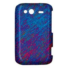 Blue pattern HTC Wildfire S A510e Hardshell Case