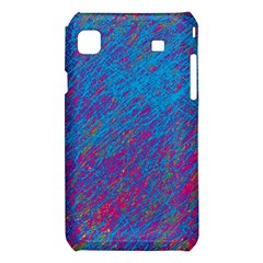 Blue pattern Samsung Galaxy S i9008 Hardshell Case