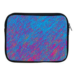 Blue pattern Apple iPad 2/3/4 Zipper Cases