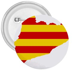 Flag Map Of Catalonia 3  Buttons