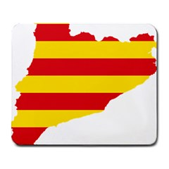 Flag Map Of Catalonia Large Mousepads
