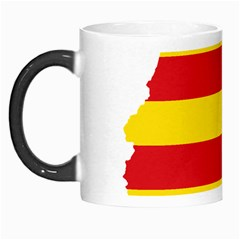 Flag Map Of Catalonia Morph Mugs