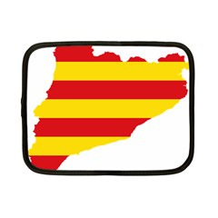 Flag Map Of Catalonia Netbook Case (Small)