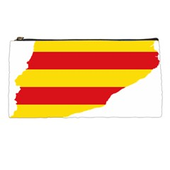 Flag Map Of Catalonia Pencil Cases