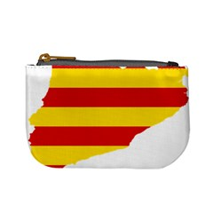 Flag Map Of Catalonia Mini Coin Purses