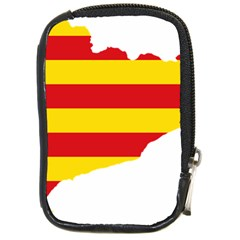 Flag Map Of Catalonia Compact Camera Cases