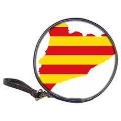 Flag Map Of Catalonia Classic 20-CD Wallets