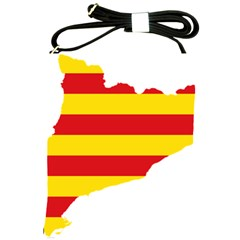 Flag Map Of Catalonia Shoulder Sling Bags