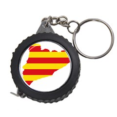 Flag Map Of Catalonia Measuring Tapes