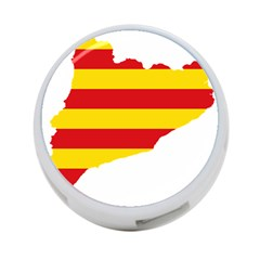 Flag Map Of Catalonia 4-Port USB Hub (Two Sides)
