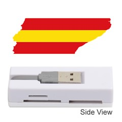 Flag Map Of Catalonia Memory Card Reader (Stick)