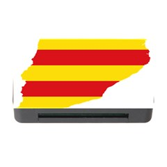 Flag Map Of Catalonia Memory Card Reader with CF