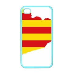 Flag Map Of Catalonia Apple iPhone 4 Case (Color)