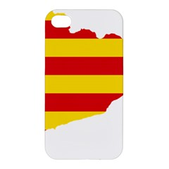 Flag Map Of Catalonia Apple iPhone 4/4S Hardshell Case