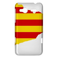 Flag Map Of Catalonia HTC Radar Hardshell Case
