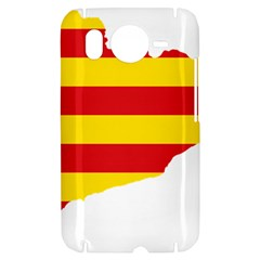Flag Map Of Catalonia HTC Desire HD Hardshell Case