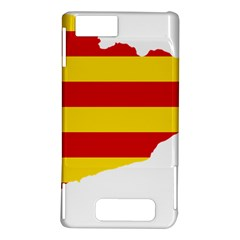 Flag Map Of Catalonia Motorola DROID X2