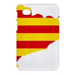 Flag Map Of Catalonia Samsung Galaxy Tab 7  P1000 Hardshell Case