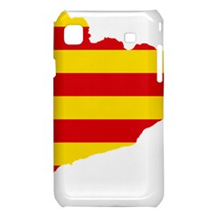 Flag Map Of Catalonia Samsung Galaxy S i9008 Hardshell Case