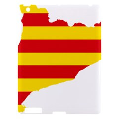 Flag Map Of Catalonia Apple iPad 3/4 Hardshell Case
