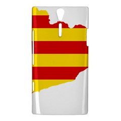 Flag Map Of Catalonia Sony Xperia S