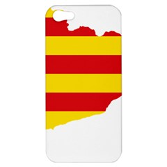 Flag Map Of Catalonia Apple iPhone 5 Hardshell Case
