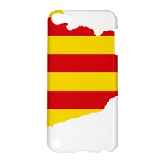 Flag Map Of Catalonia Apple iPod Touch 5 Hardshell Case