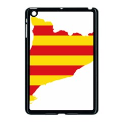 Flag Map Of Catalonia Apple iPad Mini Case (Black)